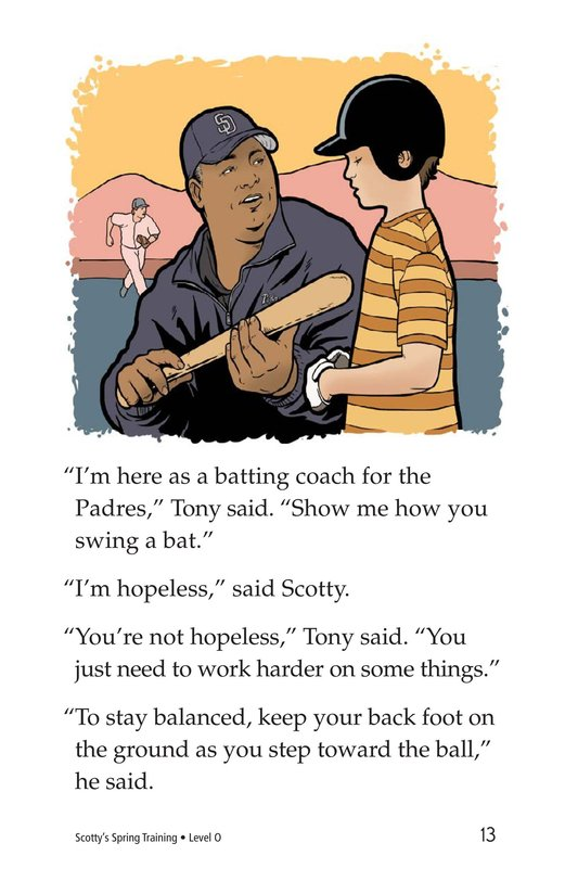 Book Preview For Scotty's Spring Training Page 13