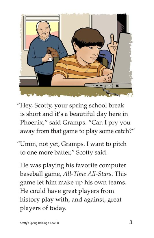 Book Preview For Scotty's Spring Training Page 3