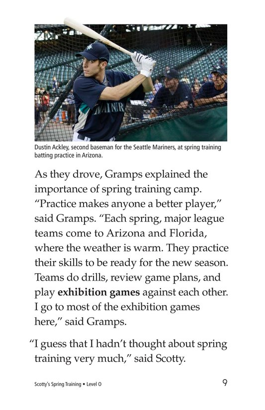Book Preview For Scotty's Spring Training Page 9