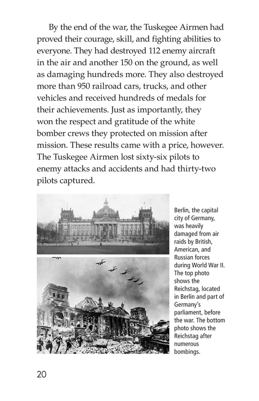 Book Preview For The Tuskegee Airmen Page 20