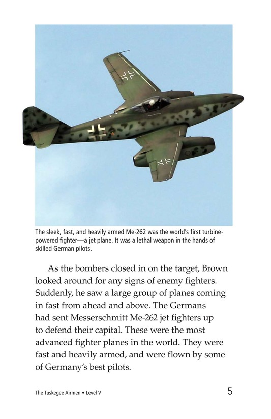 Book Preview For The Tuskegee Airmen Page 5