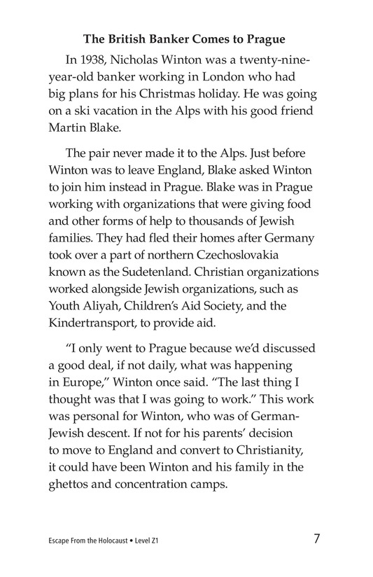 Book Preview For Escape From the Holocaust Page 7