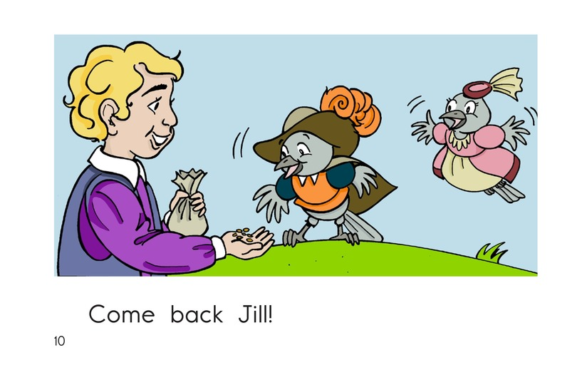 Book Preview For Two Little Dicky Birds Page 10