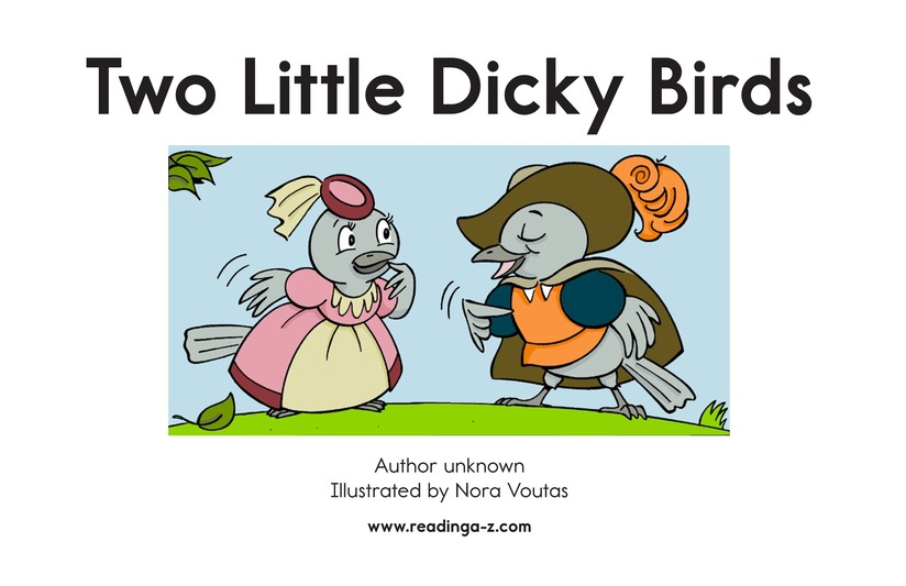 Book Preview For Two Little Dicky Birds Page 2
