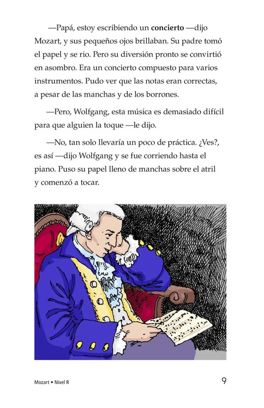 Book Preview For Mozart Page 9