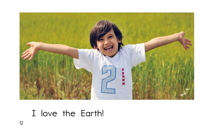 Book Preview For I Love the Earth Page 12