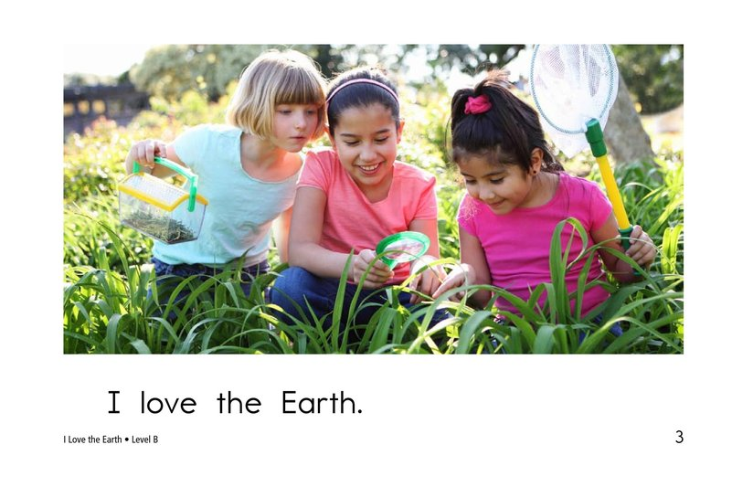 Book Preview For I Love the Earth Page 3