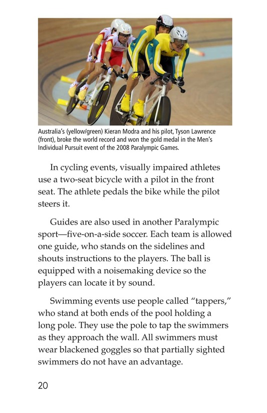 Book Preview For Adaptive Athletes Page 20