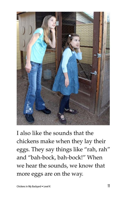 Book Preview For Chickens in My Backyard Page 11