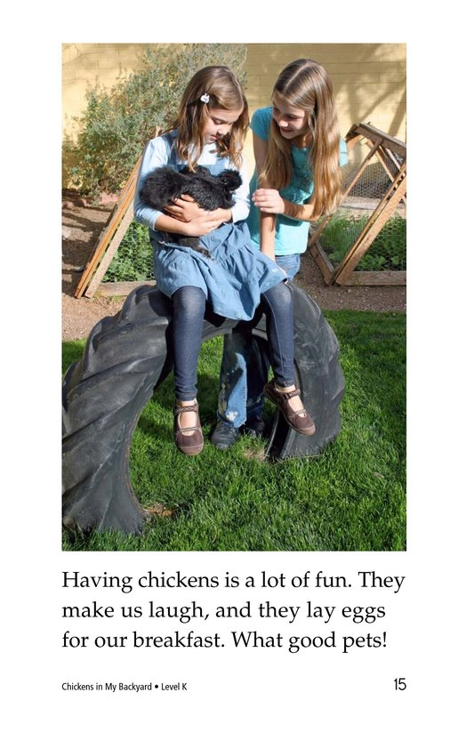 Book Preview For Chickens in My Backyard Page 15