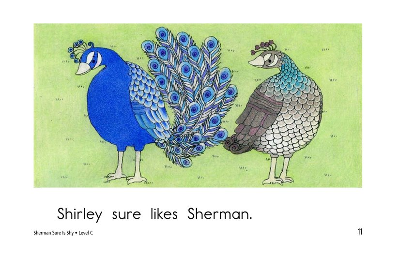 Book Preview For Sherman Sure Is Shy Page 11