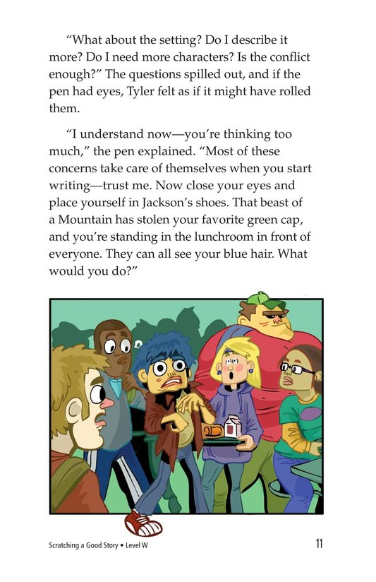 Book Preview For Scratching a Good Story Page 11