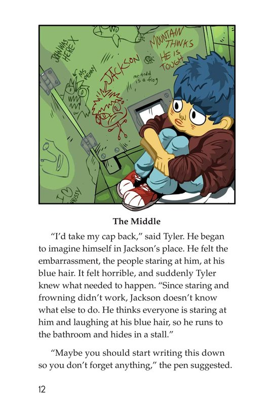 Book Preview For Scratching a Good Story Page 12