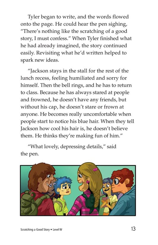 Book Preview For Scratching a Good Story Page 13