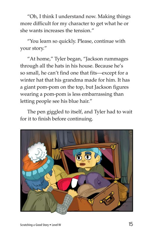 Book Preview For Scratching a Good Story Page 15