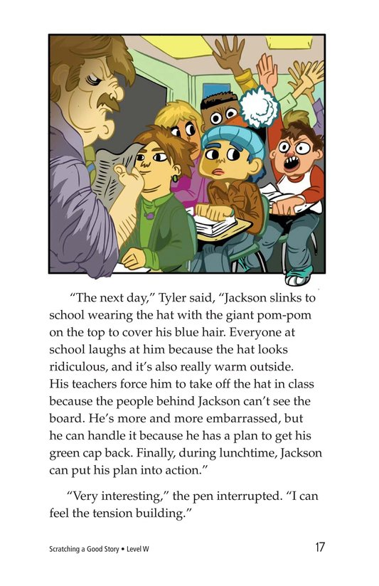 Book Preview For Scratching a Good Story Page 17