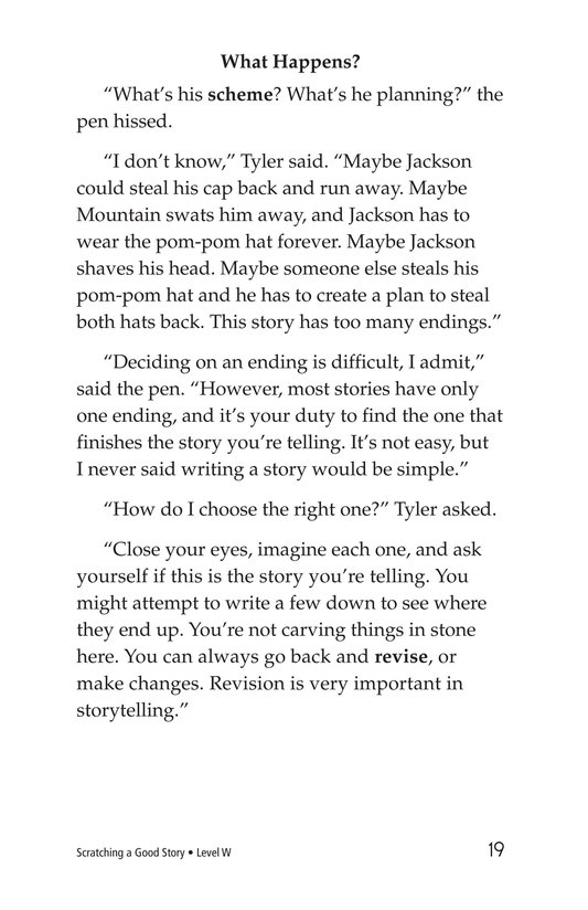 Book Preview For Scratching a Good Story Page 19