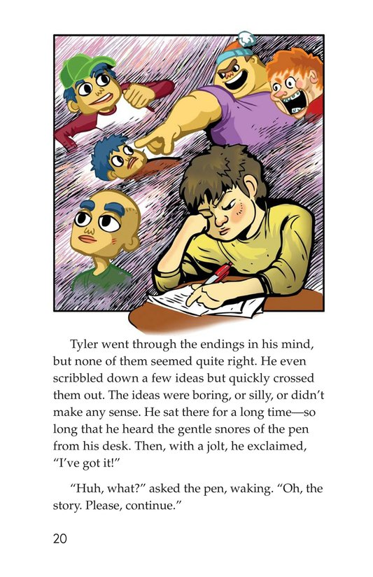 Book Preview For Scratching a Good Story Page 20
