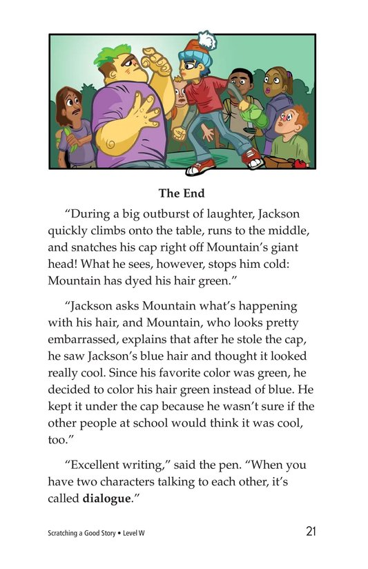 Book Preview For Scratching a Good Story Page 21