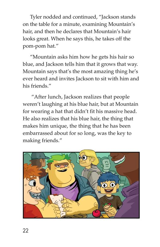 Book Preview For Scratching a Good Story Page 22