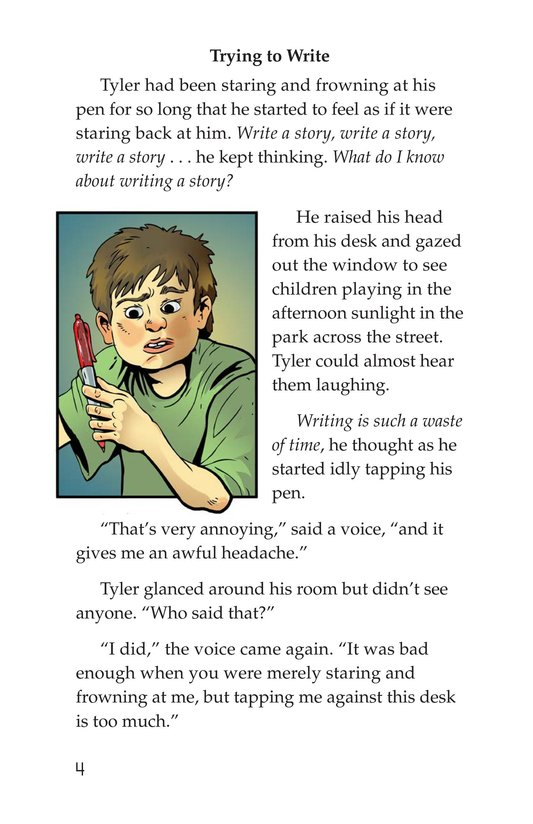 Book Preview For Scratching a Good Story Page 4