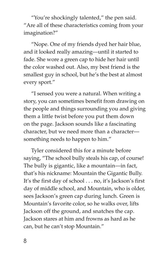 Book Preview For Scratching a Good Story Page 8