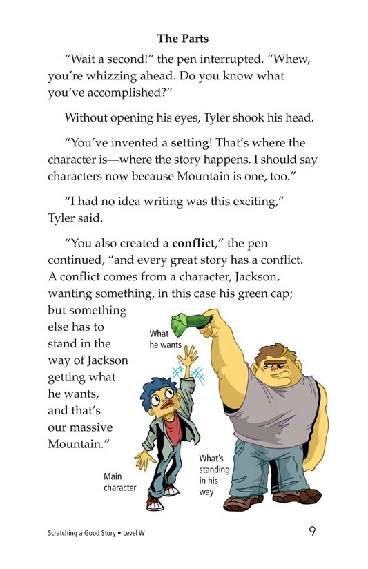 Book Preview For Scratching a Good Story Page 9