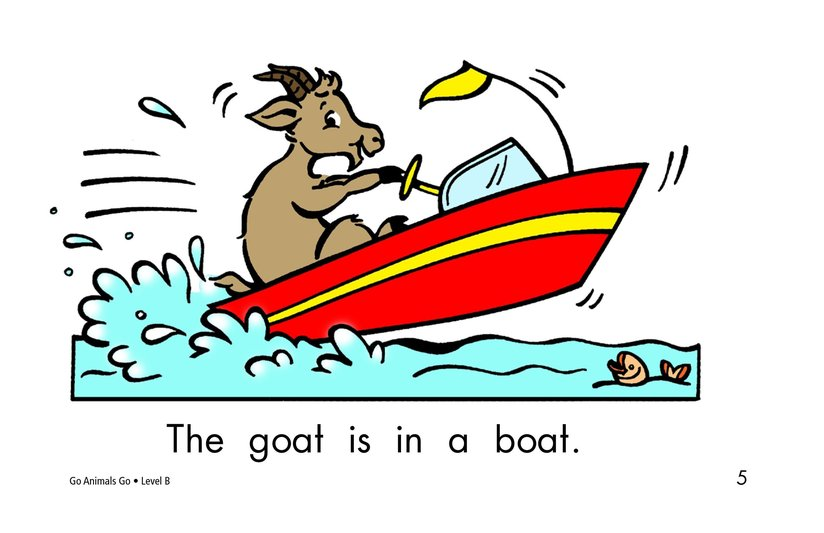 Book Preview For Go Animals Go Page 5
