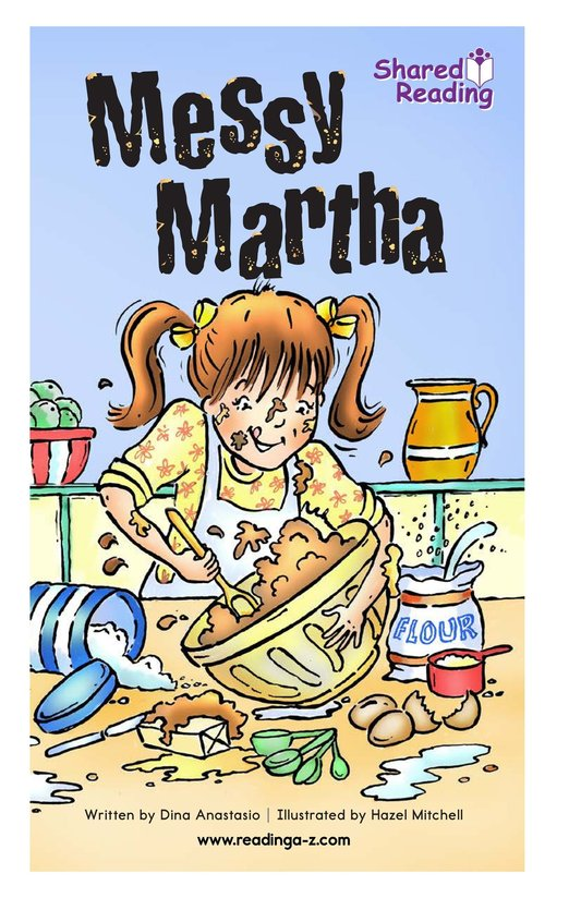 Book Preview For Messy Martha Page 1