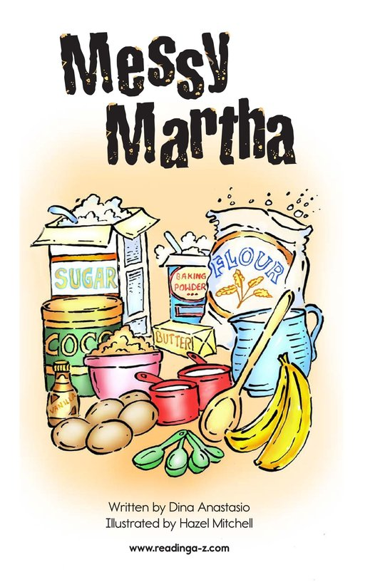Book Preview For Messy Martha Page 2