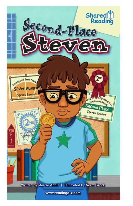 Book Preview For Second-Place Steven Page 1