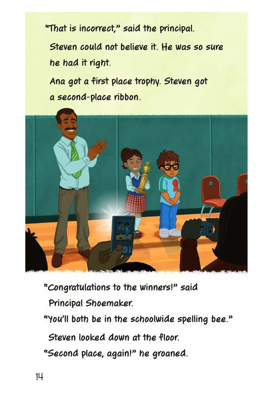 Book Preview For Second-Place Steven Page 14