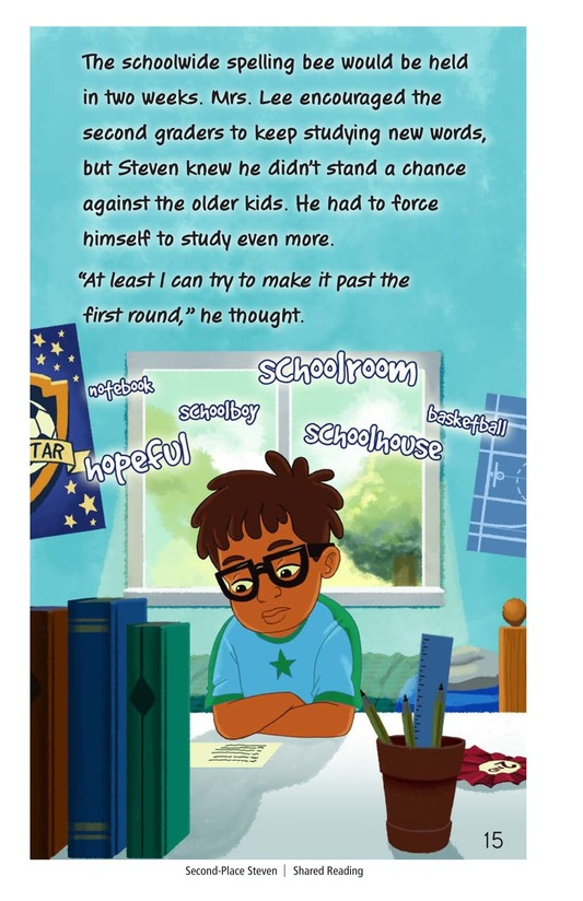 Book Preview For Second-Place Steven Page 15