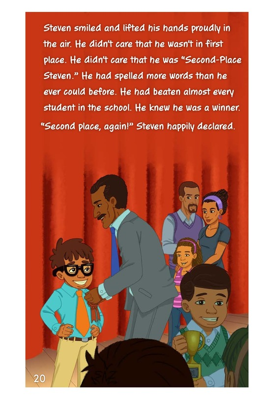 Book Preview For Second-Place Steven Page 20
