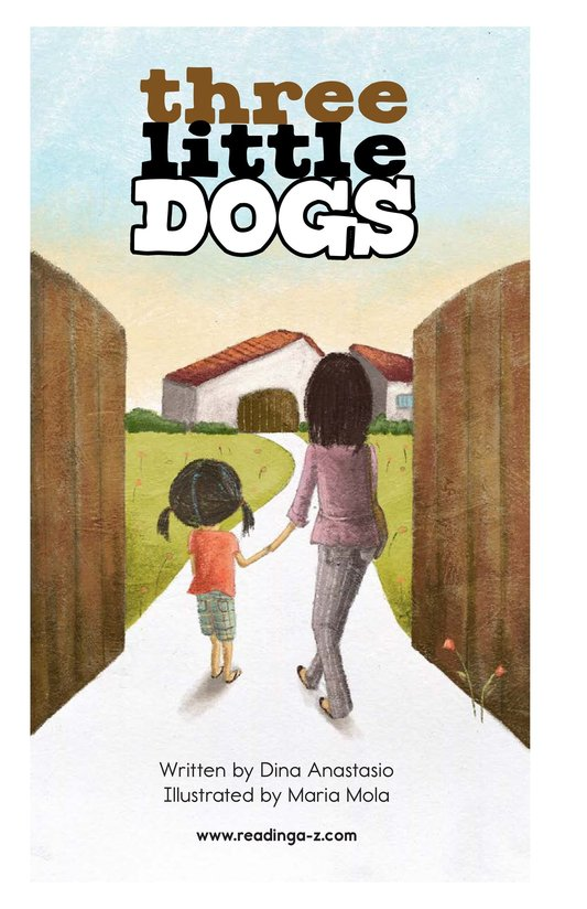 Book Preview For Three Little Dogs Page 2