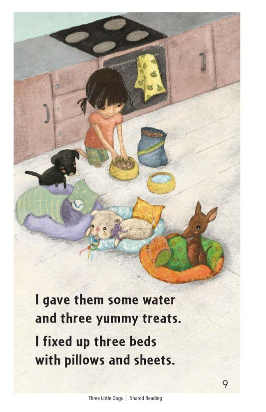 Book Preview For Three Little Dogs Page 9
