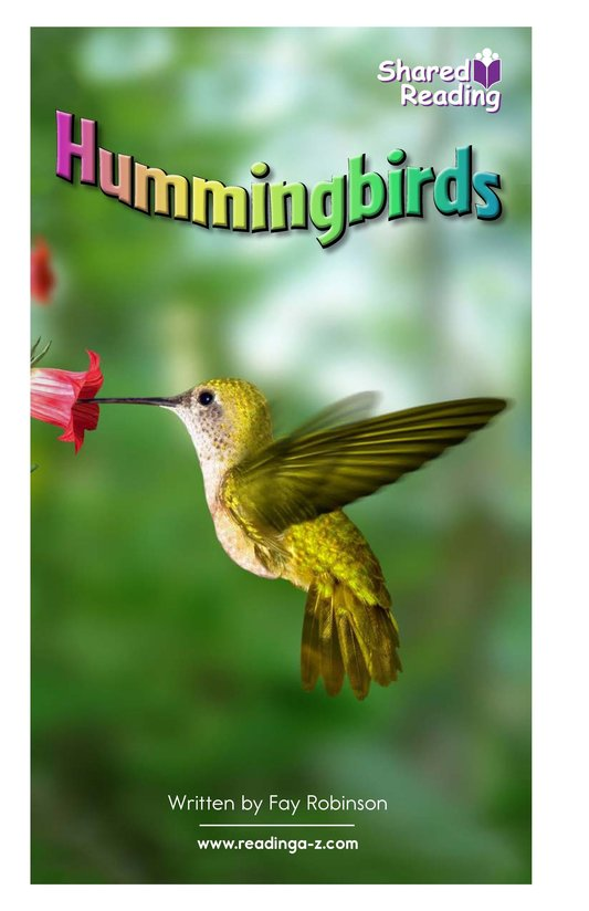 Book Preview For Hummingbirds Page 1