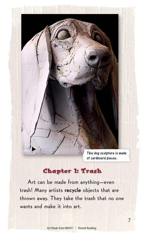 Book Preview For Art Made from What? Page 7