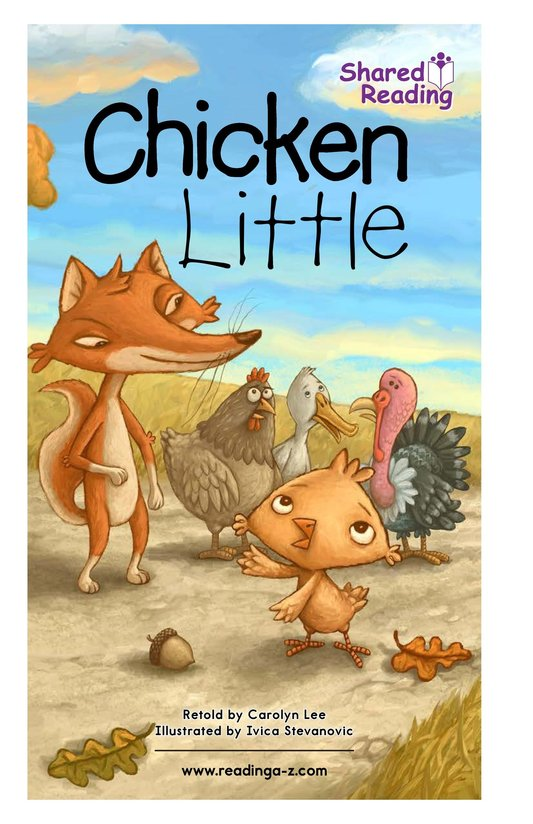 Book Preview For Chicken Little Page 1