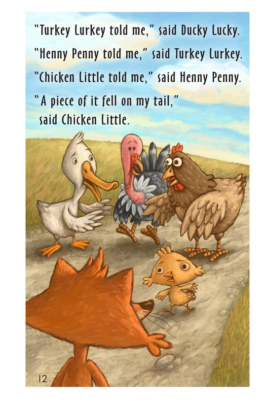 Book Preview For Chicken Little Page 12