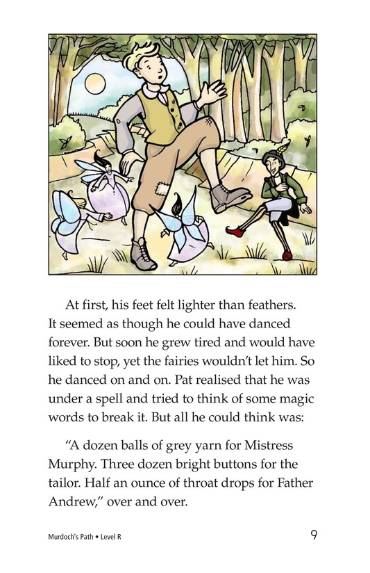 Book Preview For Murdoch's Path Page 9