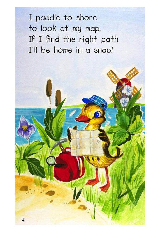 Book Preview For Quack! Quack! Will Duck Get Back? Page 4