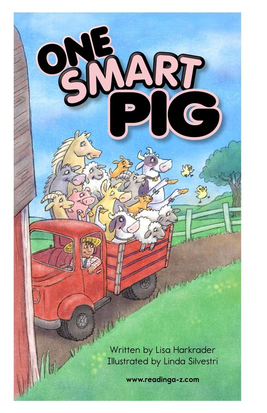 Book Preview For One Smart Pig Page 2