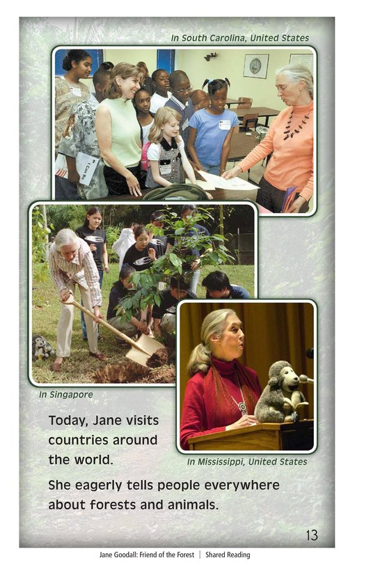 Book Preview For Jane Goodall: Friend of the Forest Page 13