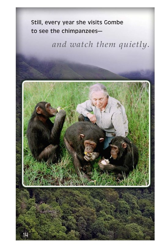 Book Preview For Jane Goodall: Friend of the Forest Page 14