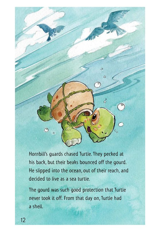 Book Preview For How Turtle Got His Shell and Why Tiger Can't Climb Trees Page 12