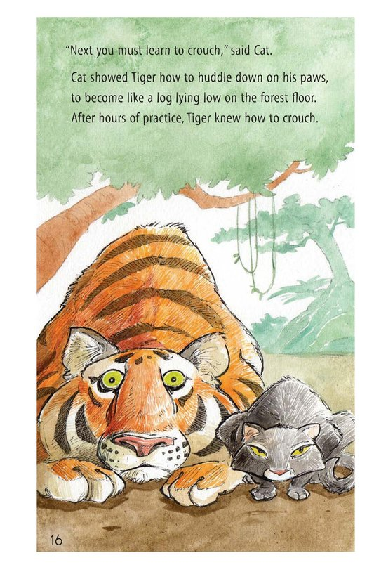 Book Preview For How Turtle Got His Shell and Why Tiger Can't Climb Trees Page 16