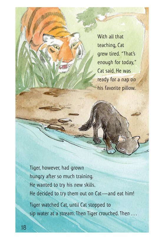 Book Preview For How Turtle Got His Shell and Why Tiger Can't Climb Trees Page 18