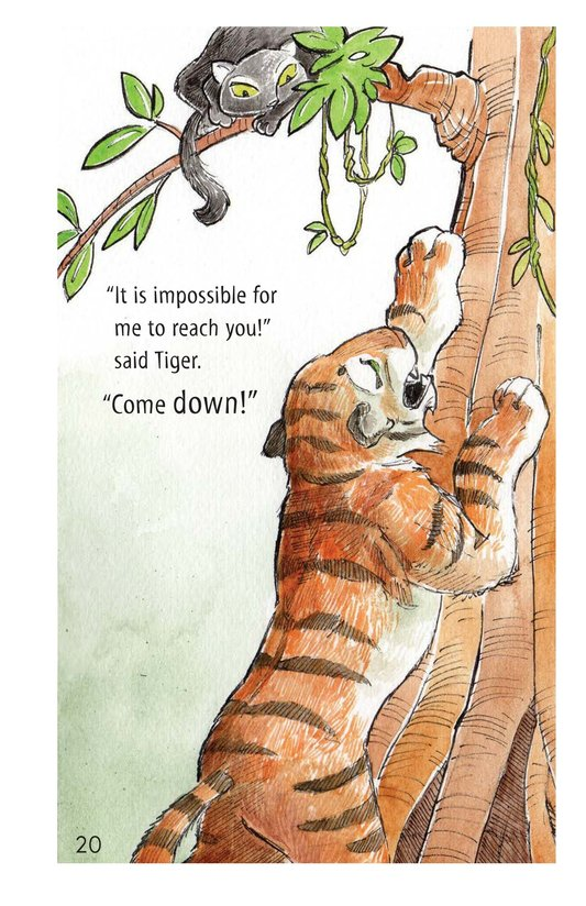 Book Preview For How Turtle Got His Shell and Why Tiger Can't Climb Trees Page 20