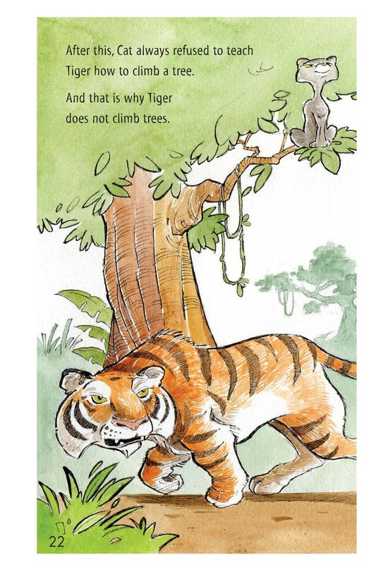 Book Preview For How Turtle Got His Shell and Why Tiger Can't Climb Trees Page 22